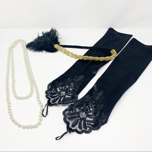 FLAPPER 1920's Accessories Lot